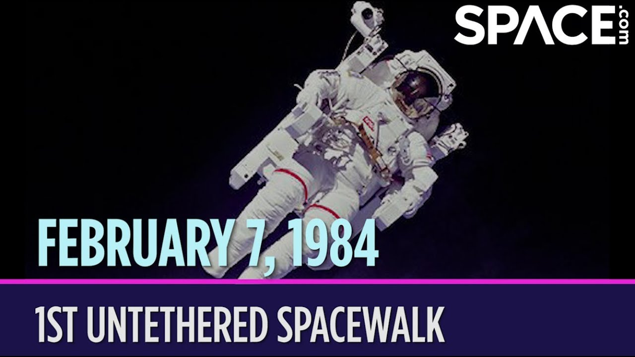 OTD in Space – February 7: 1st Untethered Spacewalk