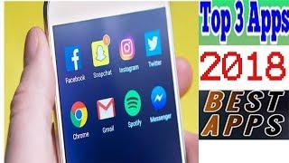 TOP 3 AMAZING ANDRIOD APPS 17 FEB 2018 URDU HINDI