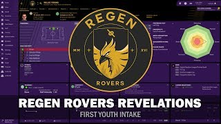Regen Rovers Revelations #3 - First Youth Intake! | Football Manager 2019