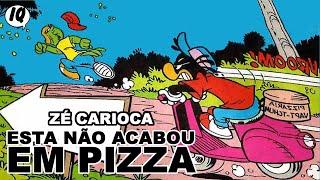 Quadrinhos narrados do Zé Carioca - Esta não acabou em pizza