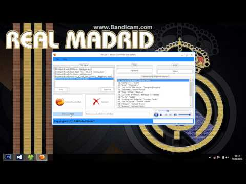 PES 2013 Music Converter and Relink v2 0 by Ginda01