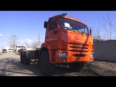 2017 КАМАЗ-43118. Обзор (интерьер, экстерьер, двигатель).