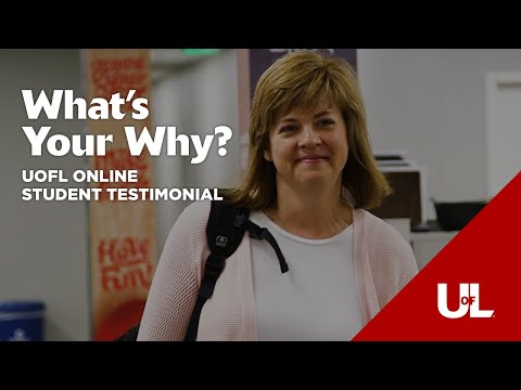 What's Your Why?: Amy's Story - Online Organizational Leadership  Degree
