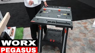 WORX PEGASUS 2 in 1 WORK TABLE WX051 - Tool Review Tuesday