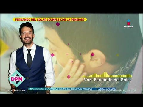¿Fernando del Solar paga  pensión a sus hijos con Ingrid Coronado?   De Primera Mano