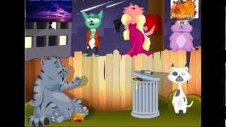 Приколы. Позитив. Поющие коты(Поющие коты. Это шаривари какое то )))) Подари ближнему позитив и веселье с этой музыкальной поздравляшкой...., 2013-04-01T12:24:47.000Z)