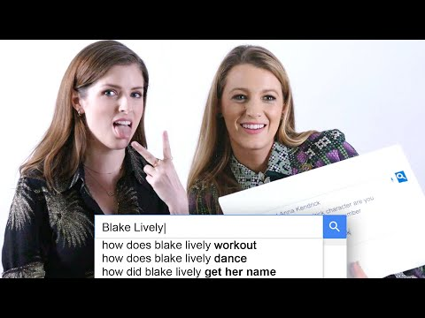 Rachel Ramsey - Anna Kendrick & Blake Lively Answer the Web's Most Searched Questions