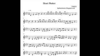 [Sheet Music / 악보] TWICE / 트와이스 Heart Shaker