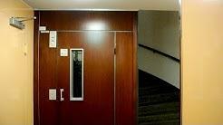 1970 KONE traction elevator (1992 mb KONE M) @ Pohjoinen Makasiinikatu 4, Helsinki, FInland