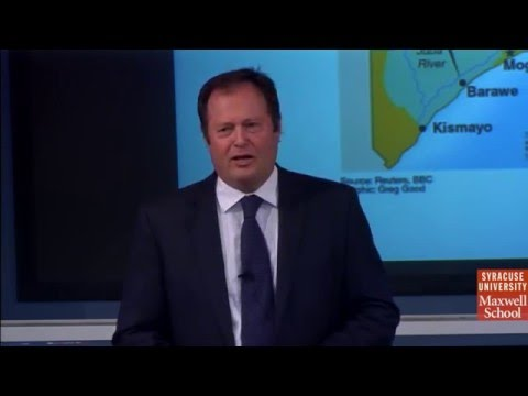 "State Building & Non State Armed Actors in Somalia,"" with Ken Menkhaus"