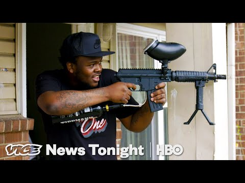 Detroiters Are Waging Paintball Wars As A Way To Stop Gang Violence (HBO)