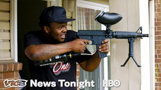 Detroiters Are Waging Paintball Wars As A Way To Stop Gang Violence (HBO) thumbnail