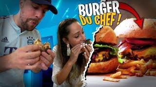 Je goûte le Burger du Chef de chez Upper Burger avec Pidi !