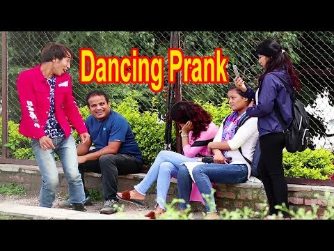 Funny Dancing Prank - Epic Reaction / First Time In Nepal / Shekhu Dhamaka