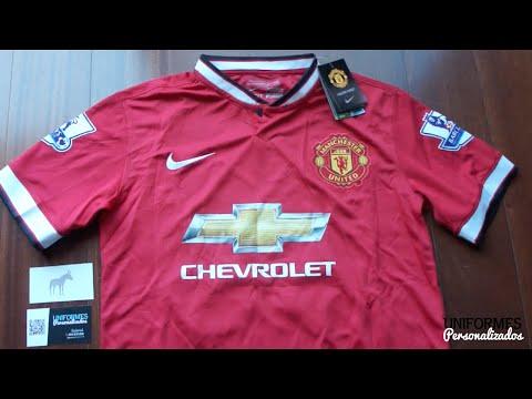 Manchester United 14-15 (Playera Local) Premier League.