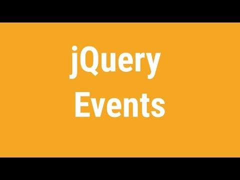 jQuery Events thumbnail
