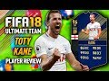 FIFA 18 TOTY KANE 96 99 SHOOTING PLAYER REVIEW FIFA 18 ULTIMATE TEAM