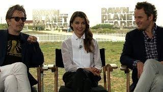 Gary Oldman, Keri Russell and Jason Clarke on mind-blowing