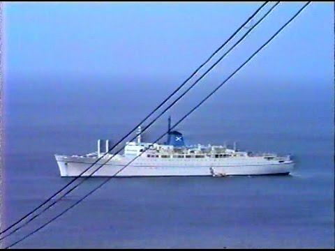 """Grenada ✪ Cruise Ship """"The Victoria"""" ✪ Chandris Fantasy Cruises ✪ April 7, 1988"""
