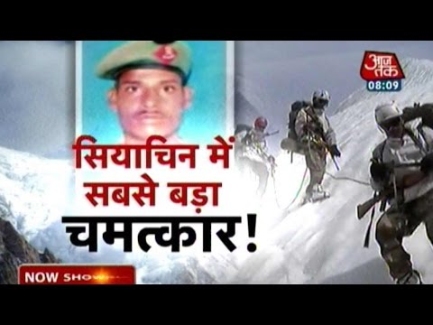Indian Soldier Miraculously Survives Siachen Snowstorm
