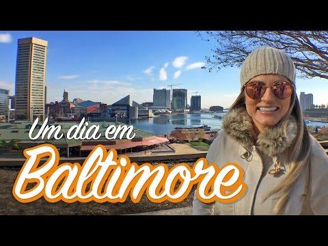 Um dia em Baltimore - Inner Harbor