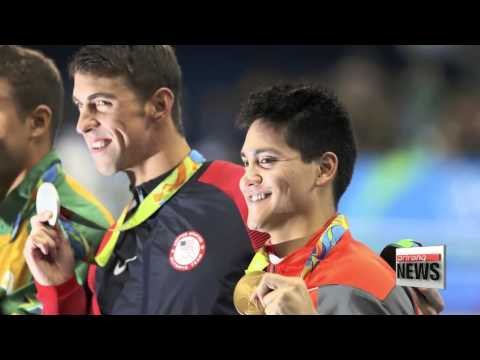 Schooling Beats Phelps to claim Singapore's 1st Olympic Gold at Rio 2016