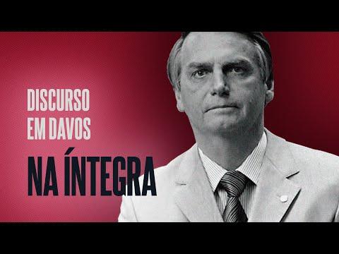 [NA ÍNTEGRA] DISCURSO DE BOLSONARO EM DAVOS