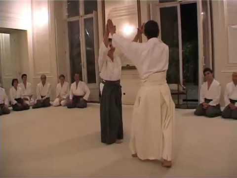 "Kinomichi ""Dojo de la Fontaine"" Masamichi Noro Paris un soir de septembre 2000"