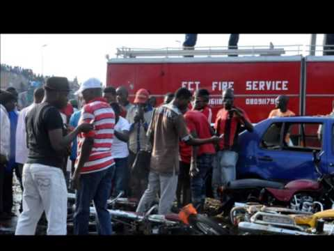Deadly blast at Nigeria bus station
