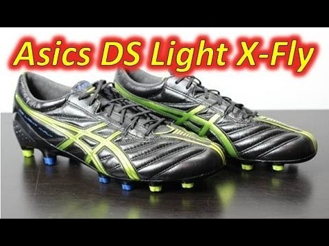 46a7739357a4 Asics DS Light X-Fly K Black Lime Deep Blue - Unboxing + On Feet ...