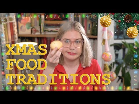 Christmas Food Traditions SNACKS AND FACTS #12