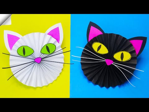 Paper cat | Paper crafts for kids