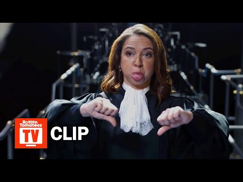 The Good Place S03E02 Clip | 'The Judge Catches Michael and Janet' | Rotten Tomatoes TV