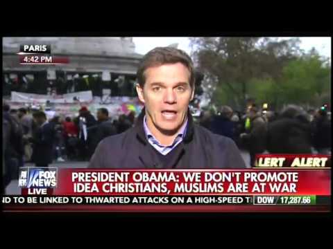 Fox News host Bill Hemmer seethes with anger after Obama's ISIS press conference