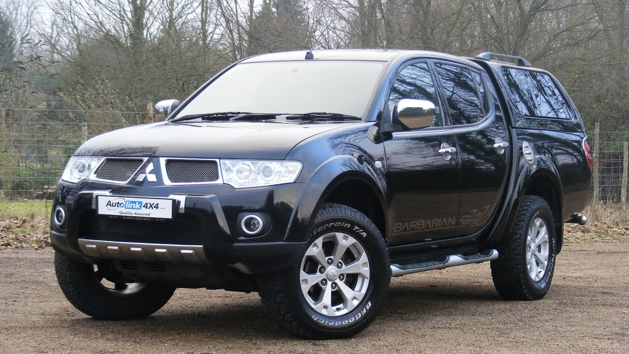 2011 mitsubishi l200 2 5 did barbarian auto double cab. Black Bedroom Furniture Sets. Home Design Ideas