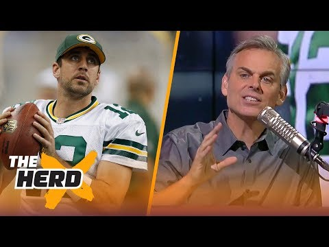 Colin Cowherd on where Aaron Rodgers ranks on the list of all-time great QBs | NFL | THE HERD