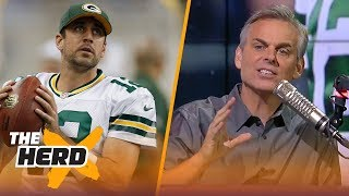 Video Colin Cowherd on where Aaron Rodgers ranks on the list of all-time great QBs   NFL   THE HERD download MP3, 3GP, MP4, WEBM, AVI, FLV Agustus 2018