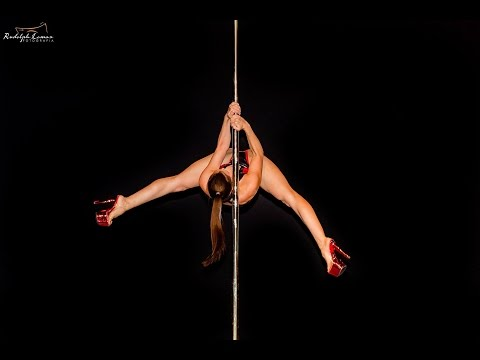 Miss Pole Dance Glamour 2016 - WINNER - Alessandra Rancan