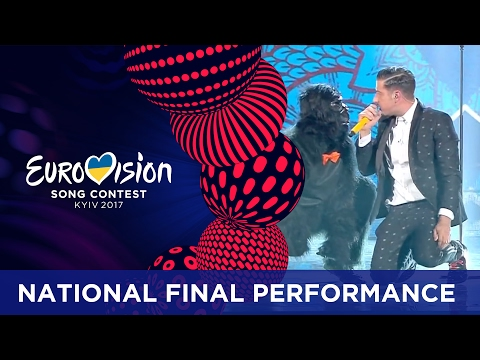 Francesco Gabbani - Occidentali's Karma (Italy) Eurovision 2017 - National Final Performance
