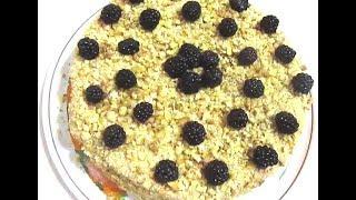 Торт Медовый. Самый простой рецепт.