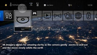 Cities from Space - PlayStation 4 Dynamic Theme