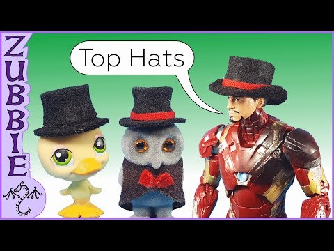 How to Make a 1:12 Scale Toy Top Hat, DIY Miniature Top Hat for Action Figures & Other Toys