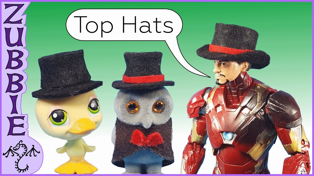 deba9e9c8b2 How to Make a 1 12 Scale Toy Top Hat