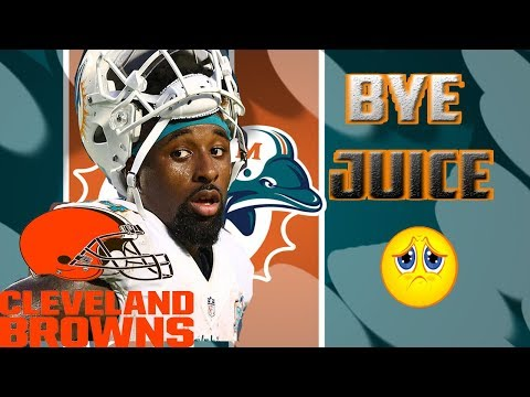 ANGRY DOLPHINS FAN REACTS TO THE MIAMI DOLPHINS TRADING JARVIS LANDRY TO THE CLEVELAND BROWNS!!