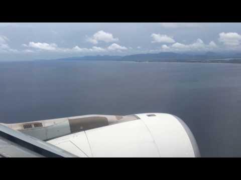 Landing in Phuket International airport