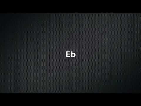 Guitar Tuner: E flat (Eb)