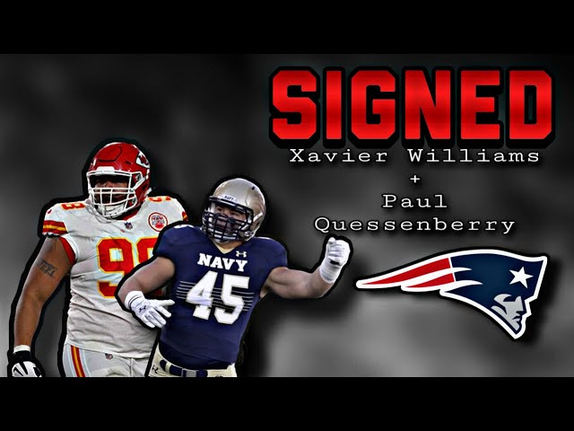 Patriots Sign Dt Xavier Williams And Te Paul Quessenberry Youtube