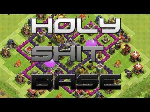 TH7 Farming Base [HARD TO RAID!] - Speed Build - Clash Of Clans [HD]