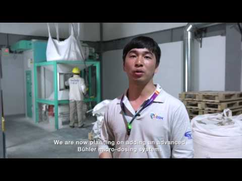 Reliable premix for animal feed from DSM plant in Chengdu