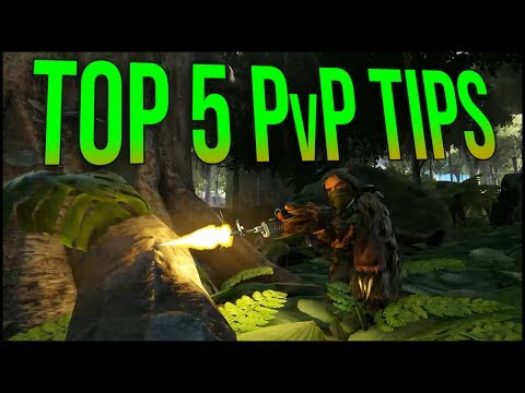 TOP 5 PvP TIPS - ARK PvP Tips & Tricks   ARK Survival Evolved Guide / Tutorial